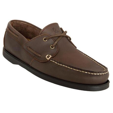 e76b485d87f83 CRUISE 500 Men's non-slip boat shoes - dark brown   tribordvoile