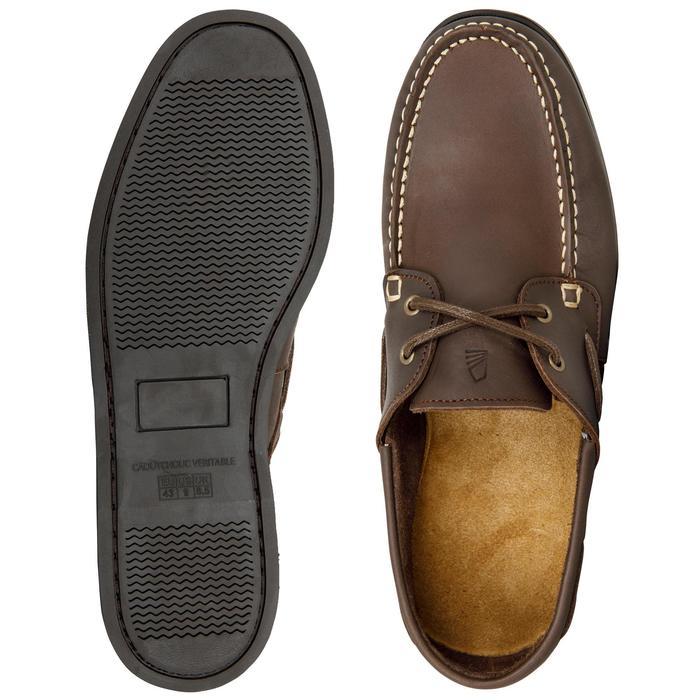 Chaussures bateau cuir homme CR500 - 1412559