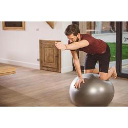 Gymnastikball Stabil Medium grau