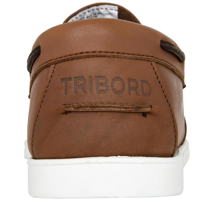 Chaussures bateau cuir homme CR500 - 1412629