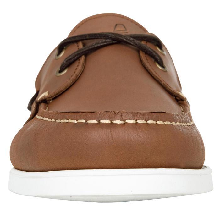 Chaussures bateau cuir homme CR500 - 1412631