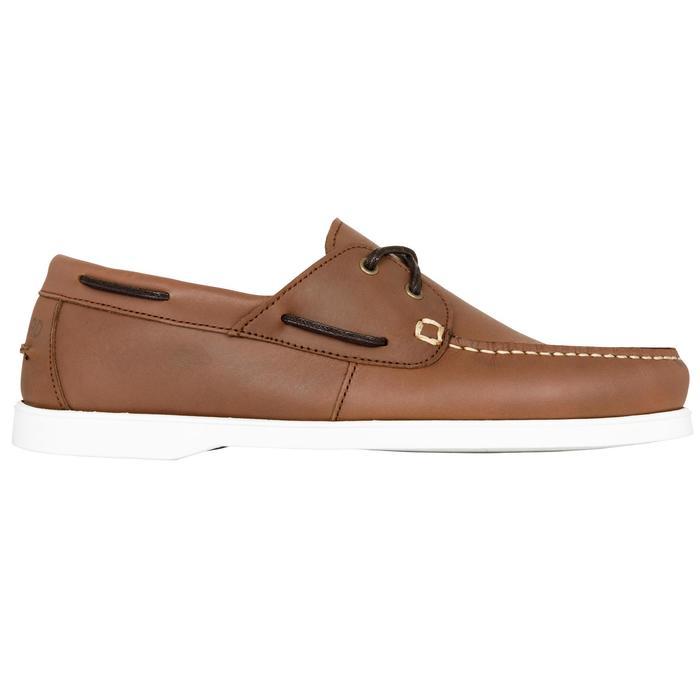 Chaussures bateau cuir homme CR500 - 1412633
