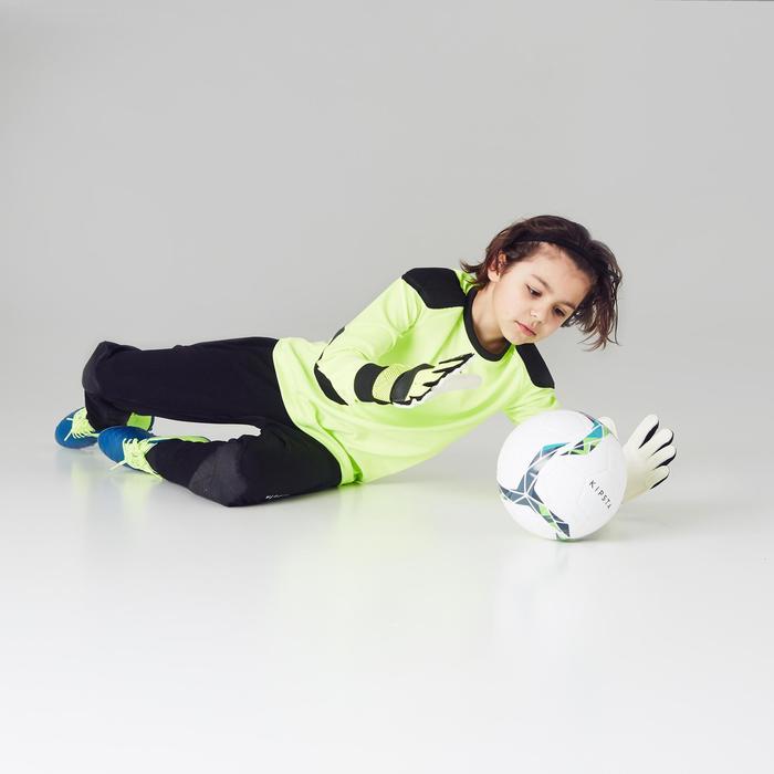 Keepersbroek voetbal kinderen F100 zwart