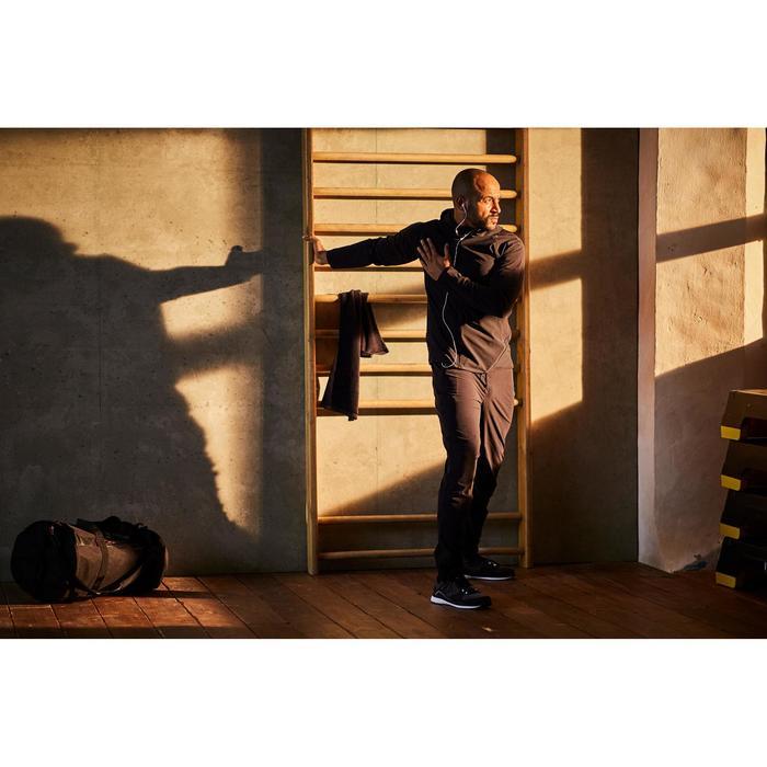 Pantalon fitness cardio homme noir FPA900 - 1412671