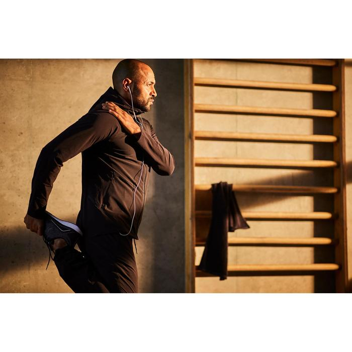 Pantalon fitness cardio homme noir FPA900 - 1412672