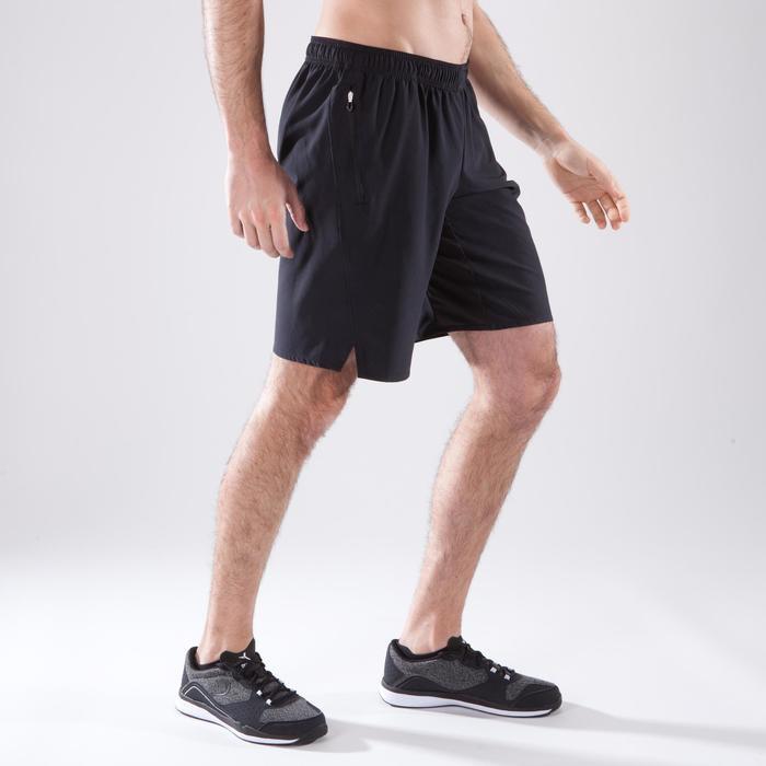 Short fitness cardio homme FST500 noir