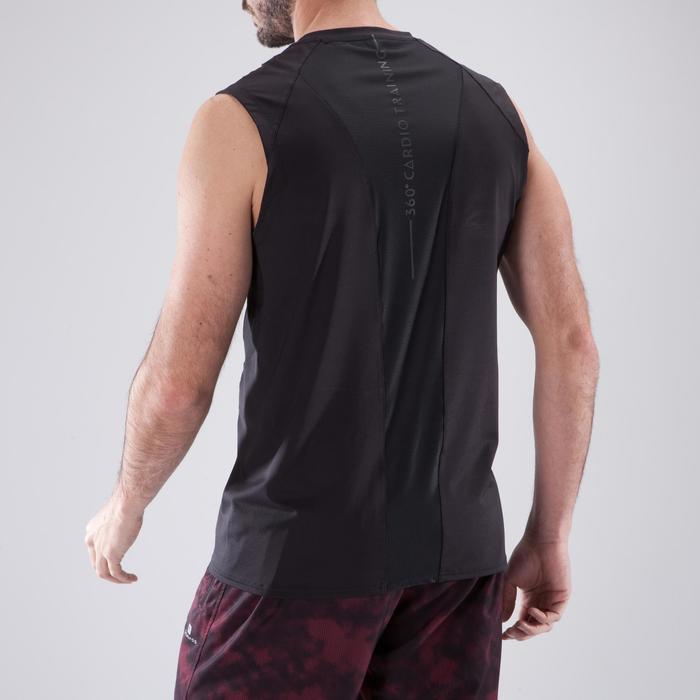 Débardeur fitness cardio-training homme FDE 500 - 1412689