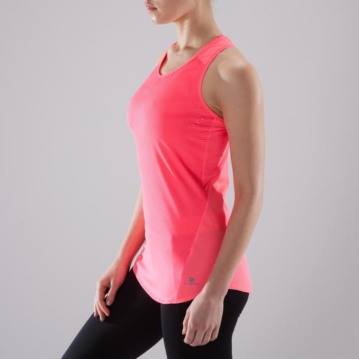 Débardeur fitness cardio-training femme rose nuancé 120