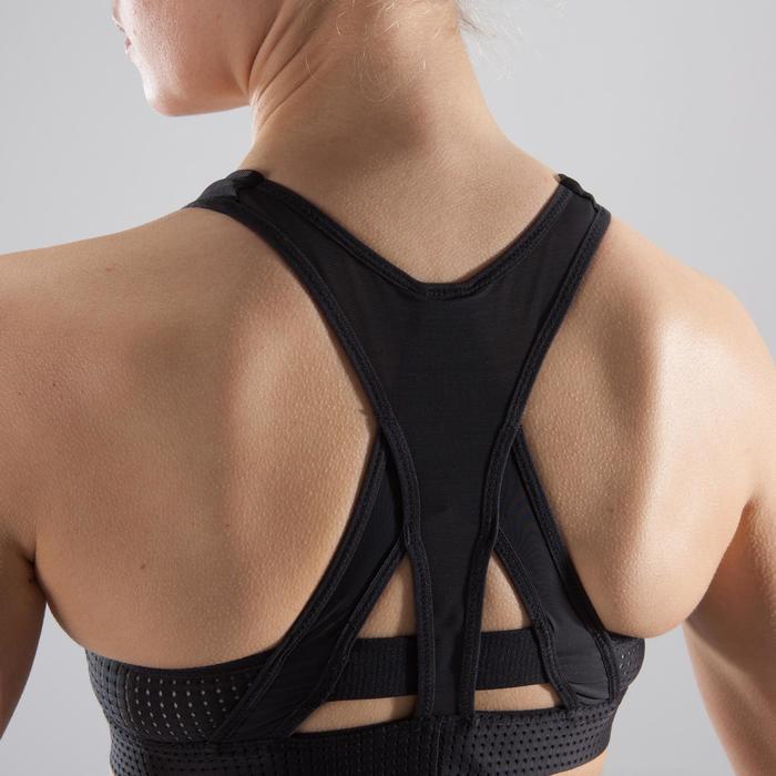 Brassière fitness cardio-training femme noire 900 - 1412731