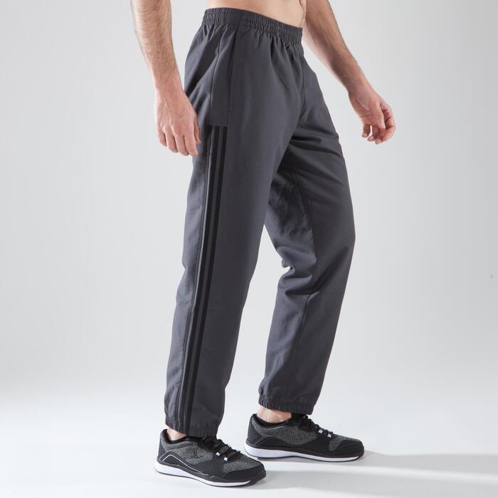 4a31e8536ac Adidas Pantalon fitness cardio-training Adidas homme DAVIVO gris ...