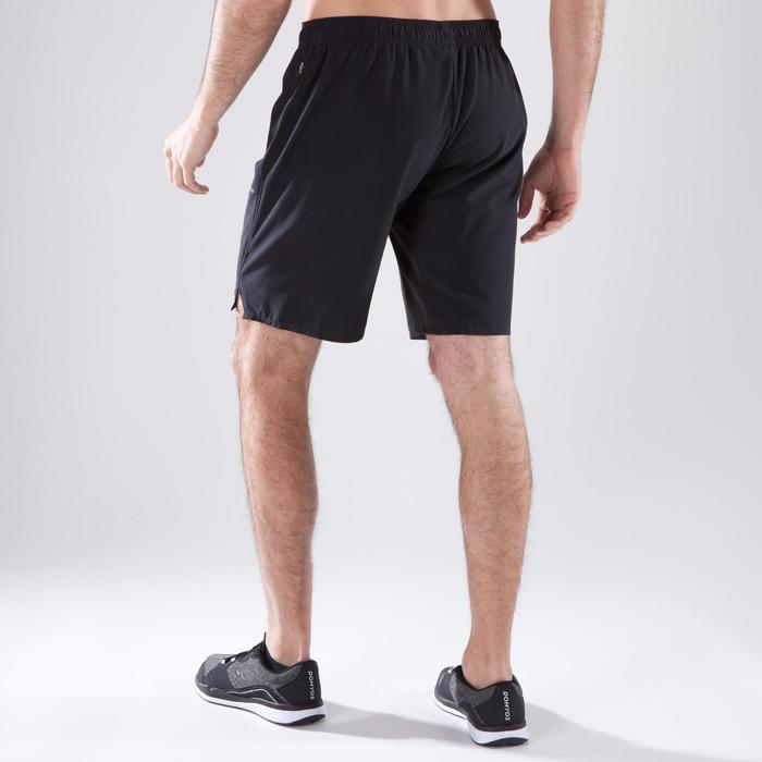 Cardiofitness short voor heren FST500 zwart