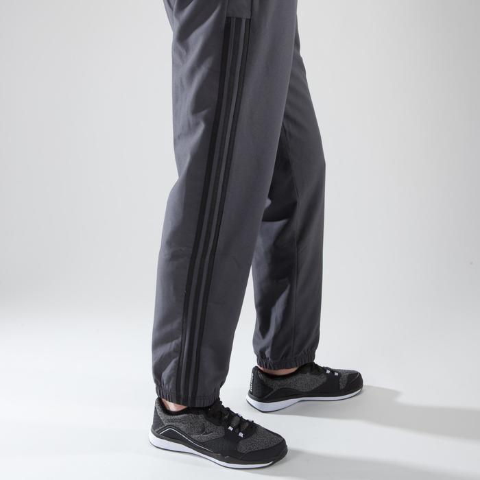 Broek voor cardiofitness Adidas heren DAVIVO antracietgrijs