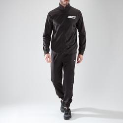 Trainingsanzug Fitness Cardio Herren schwarz Puma