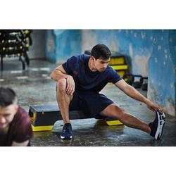 有氧健身訓練短褲FST 120-軍藍色