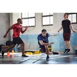 有氧健身訓練短褲FST 120-黑色