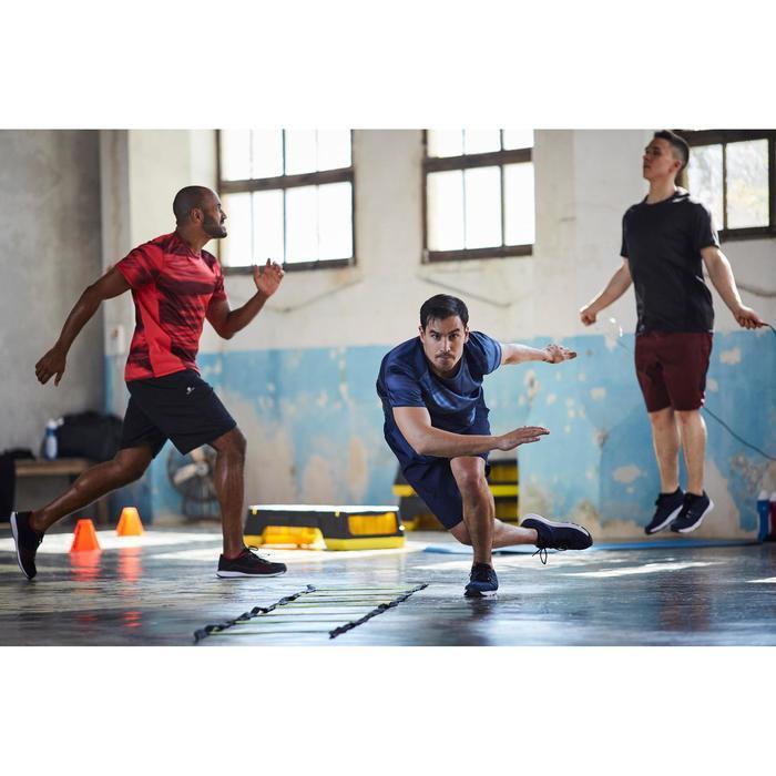 Fitnessschuhe Cardio 500 Herren schwarz/grau