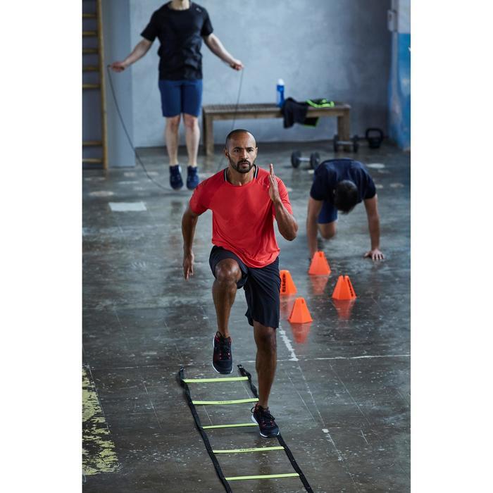 Fitnessschuhe Cardiotraining 500 Herren schwarz/rot 2018
