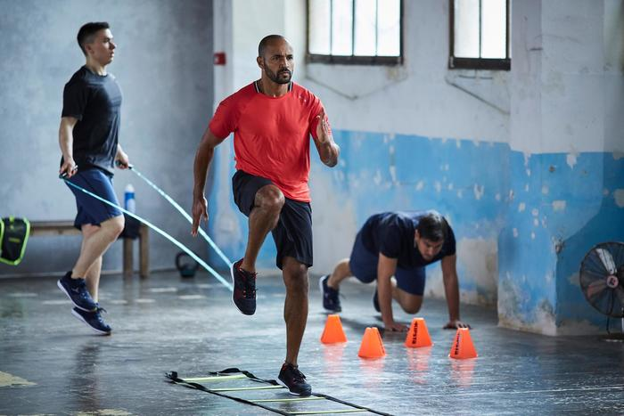 Chaussures fitness cardio-training 500 homme noir et - 1412920