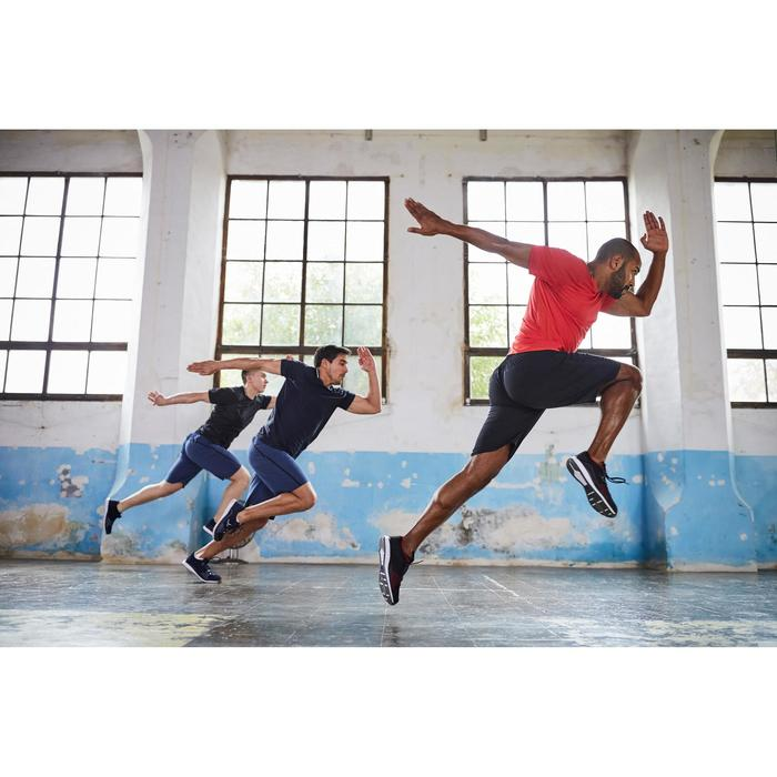 Fitness T-shirt FTS 920 voor heren, voor cardiotraining, rood