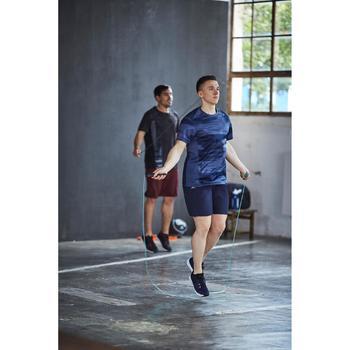 Cardiofitnessschoenen 100 voor heren zwart en blauw