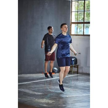 T-shirt fitness cardio homme navy FTS 120 - 1412924