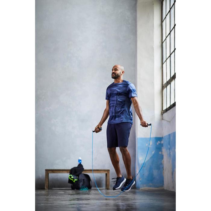 T-shirt fitness cardio homme navy FTS 120 - 1412927