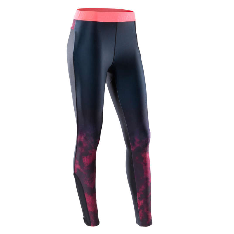 FITNESS CARDIO CONFIRMED WOMAN CLOTHING - 500 Cardio Fitness Leggings DOMYOS