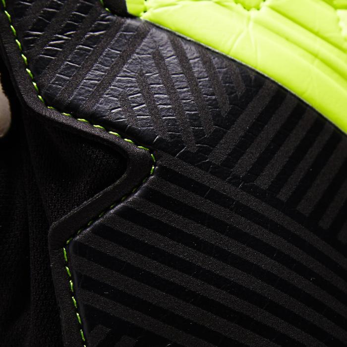 Torwarthandschuhe F100 Fußball Erwachsene schwarz/gelb