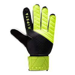 Keepershandschoenen kind F100 zwart geel