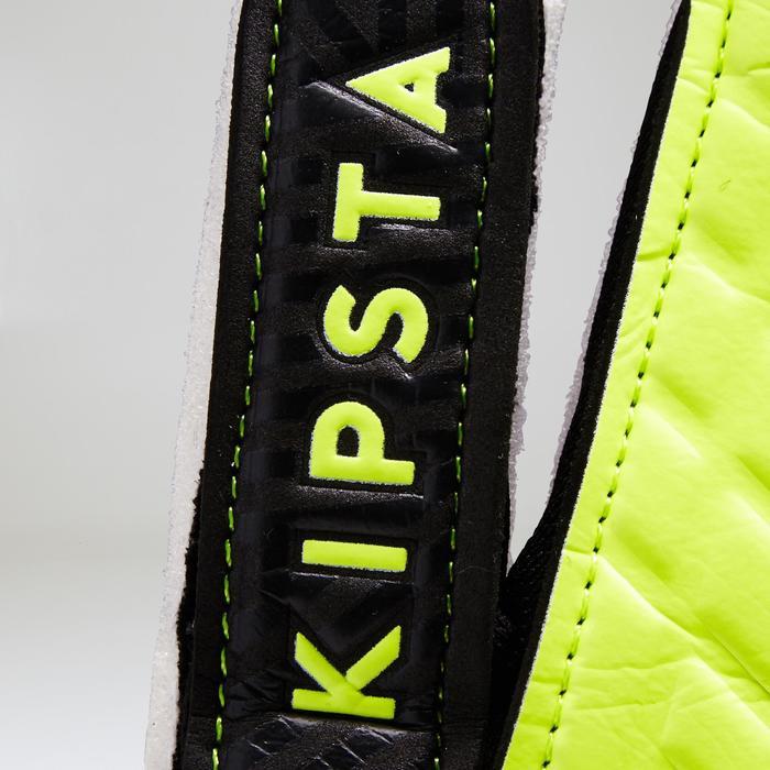 Torwarthandschuhe F100 Fußball Kinder schwarz/gelb