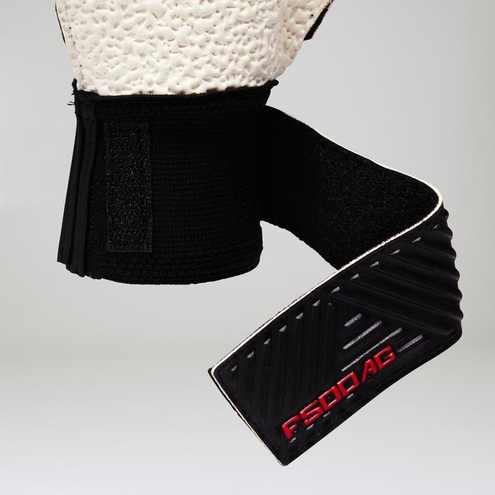 Keepershandschoenen F500 kunstgras volwassenen rood zwart