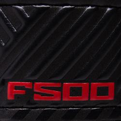 F500 Kids' Football Goalkeeper Gloves - Red/Black