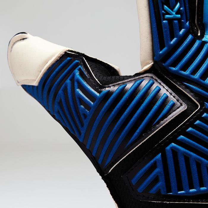 Gant de gardien de football adulte F900  adulte bleu jaune - 1413063