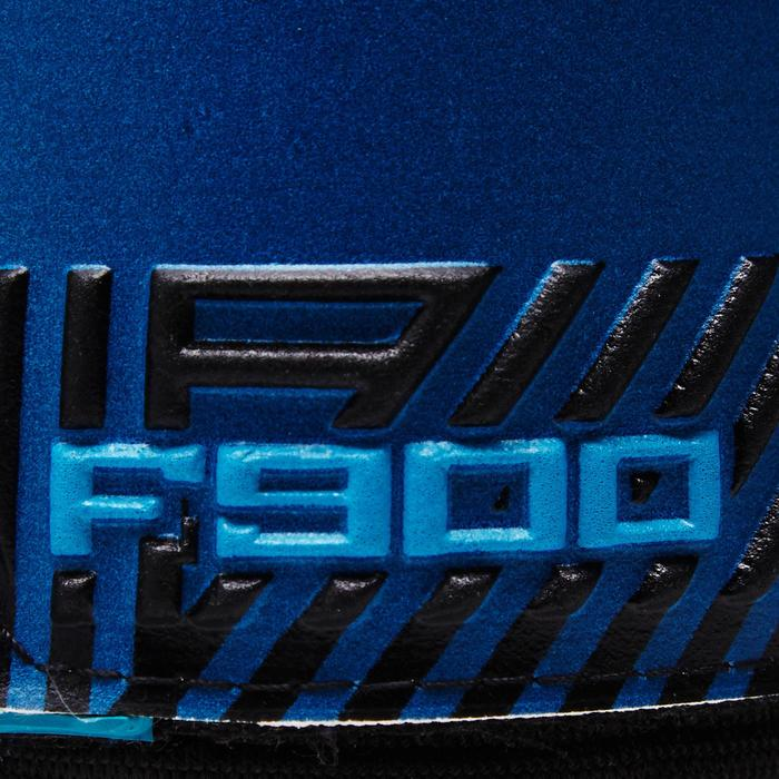 Gant de gardien de football adulte F900  adulte bleu jaune