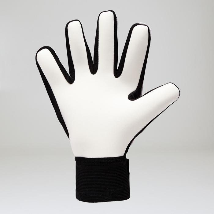 Keepershandschoenen First voor volwassenen oranje zwart wit
