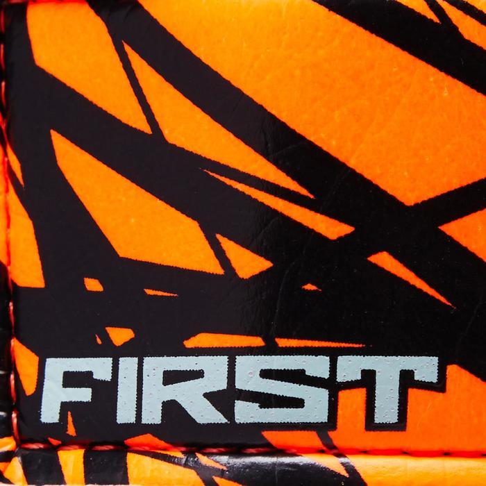 Keepershandschoenen First kind oranje/zwart