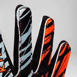 Torwarthandschuhe First Kinder orange/schwarz/weiß