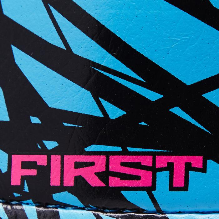 Keepershandschoenen First kind blauw/geel