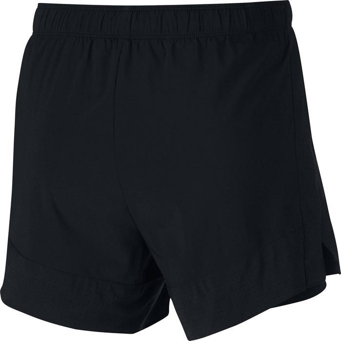 Short 2en1 fitness cardio-training femme noir - 1413131