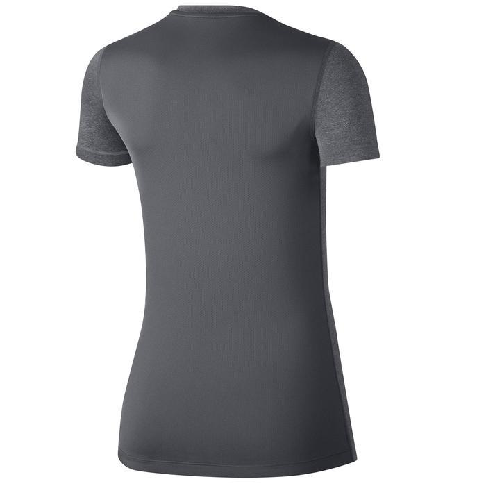 T-shirt fitness cardio-training femme gris
