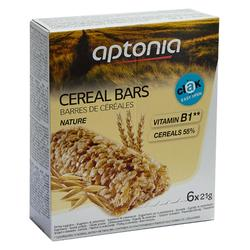 Barrita cereales Clak natural 6x21 g