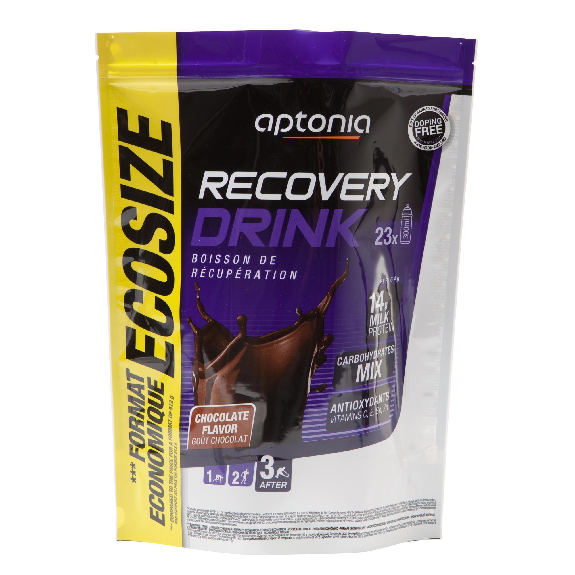 Aptonia Poederbereiding voor recuperatiedrank Recovery Drink chocolade 1,5 kg