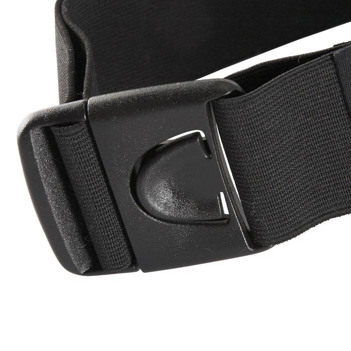 Cinturón Móvil Riñonera Running Kalenji Negro
