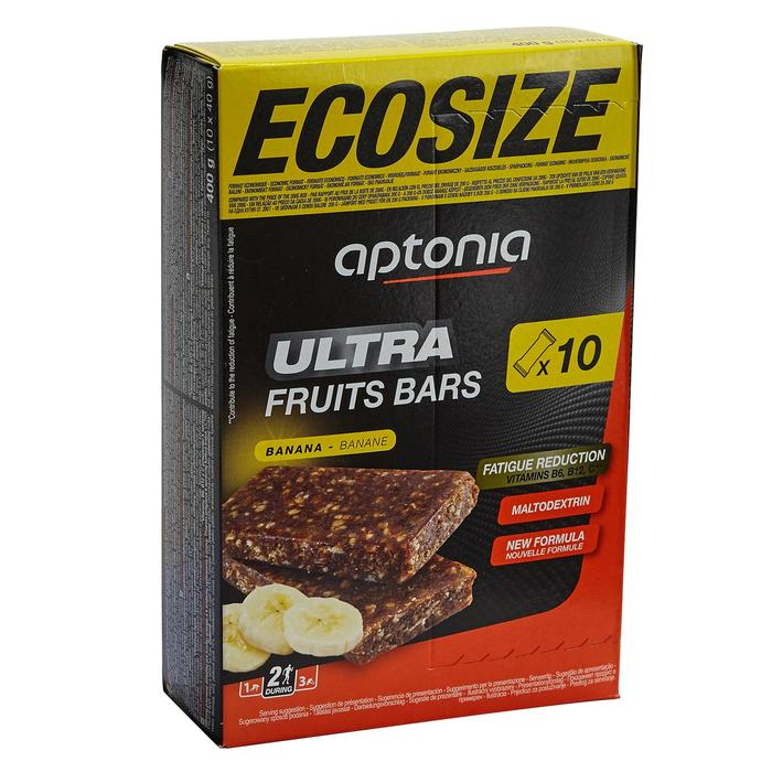 Barre énergétique ULTRA BARS ECOSIZE banane 10x40g - 1413181