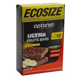 Barre énergétique ULTRA BARS ECOSIZE banane 10x40g
