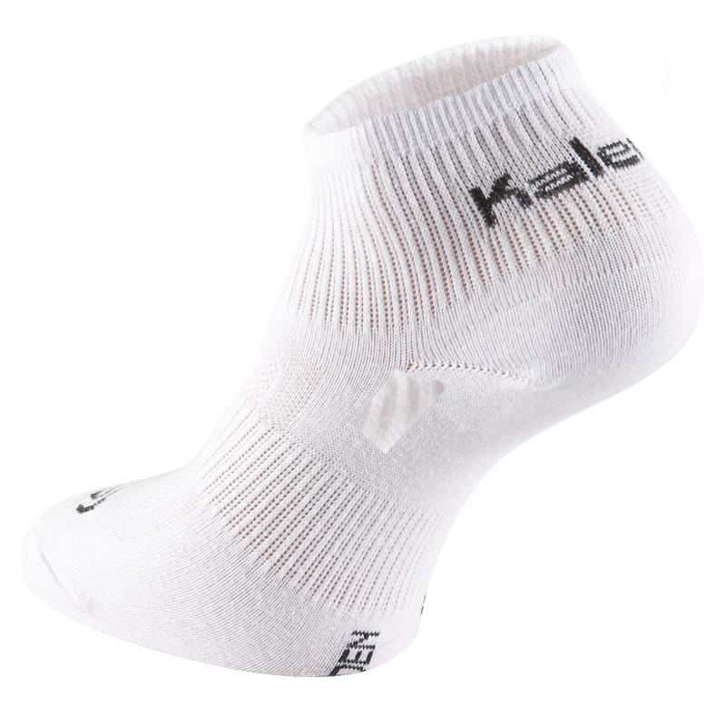 EKIDEN RUNNING SOCKS x3 WHITE
