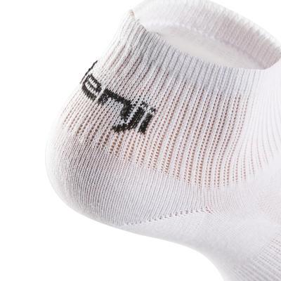 EKIDEN جوارب للجري باللون الأبيض - 3 علب