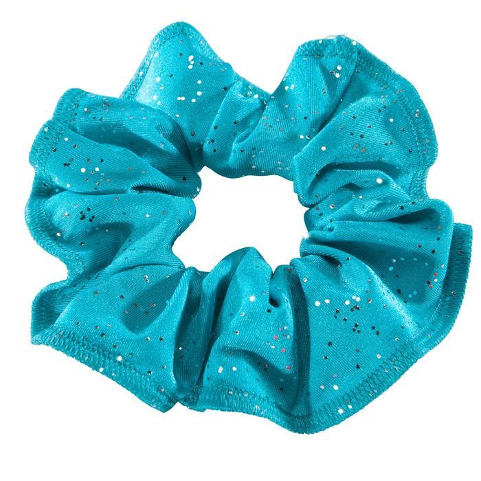 Coletero Gimnasia Femenina Domyos Azul Purpurina