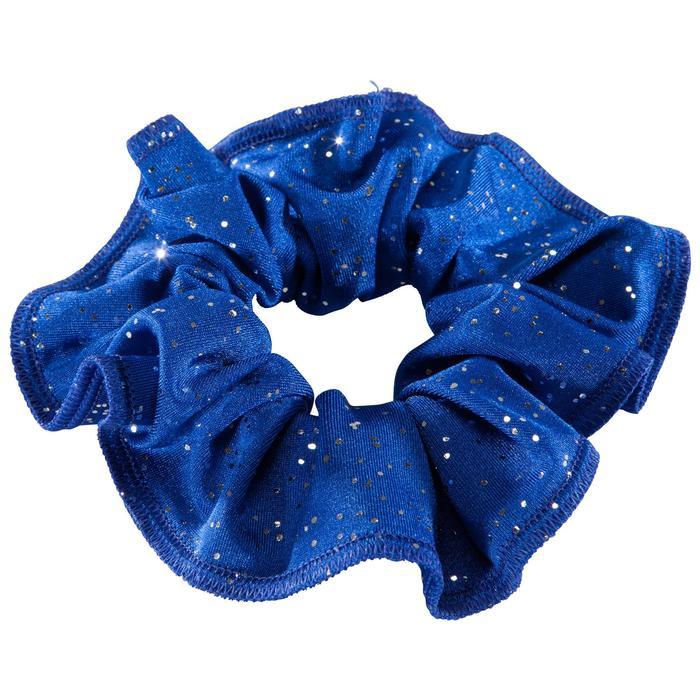 Coletero Gimnasia Femenina Domyos Azul Oscuro Purpurina
