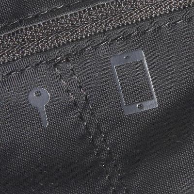 חגורת סמארטפון לריצה שחורה